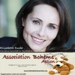 Elisabeth Duda, Marraine de L'Association Bohème Action